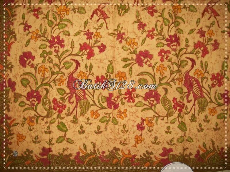 Harga Batik Tulis Pameran INACRAFT, Motif Burung Angsa Unik, Lebih Murah, Kualitas Bagus