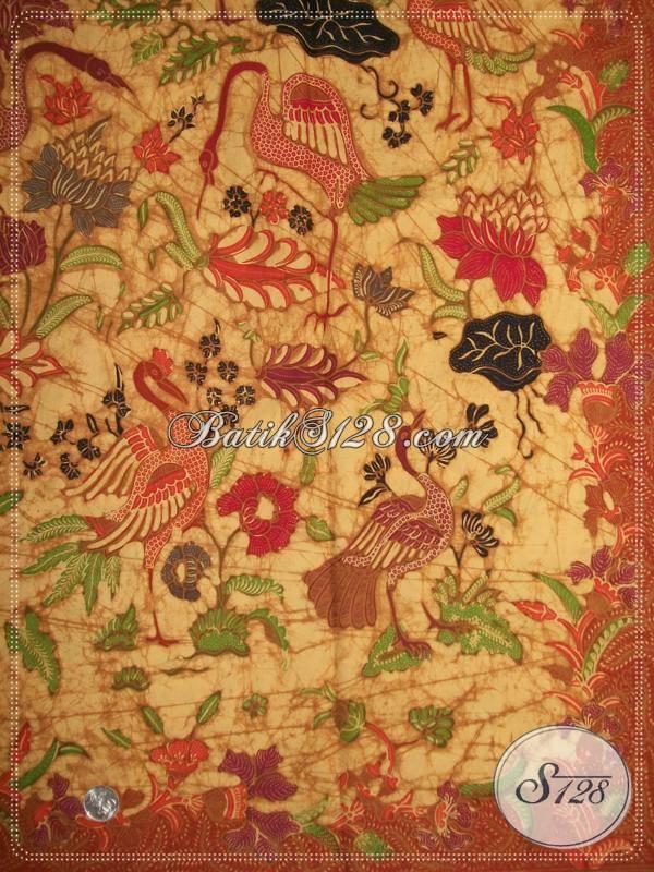 Batik INACRAFT Online Kualitas Bagus Bahan Primisima Harga Lebih Murah, Batik Tulis Corak Angsa