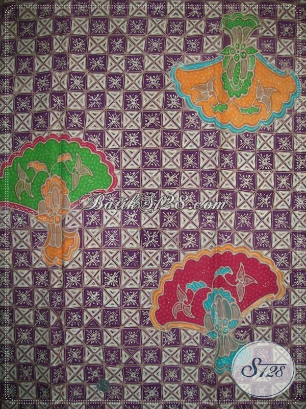 Batik Tulis Surakarta Jawa Tengah Motif Brokoli Bahan Katun Primisima Halus