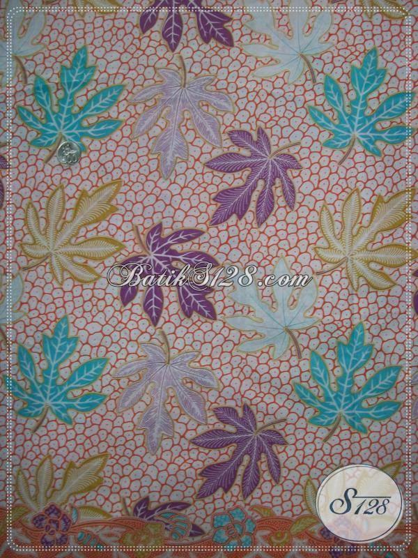 Butik Batik Pusat Penjualan Kain Batik Printing Murah, Kain Batik Solo Warna soft Bahan Berkwalitas Untuk Busana