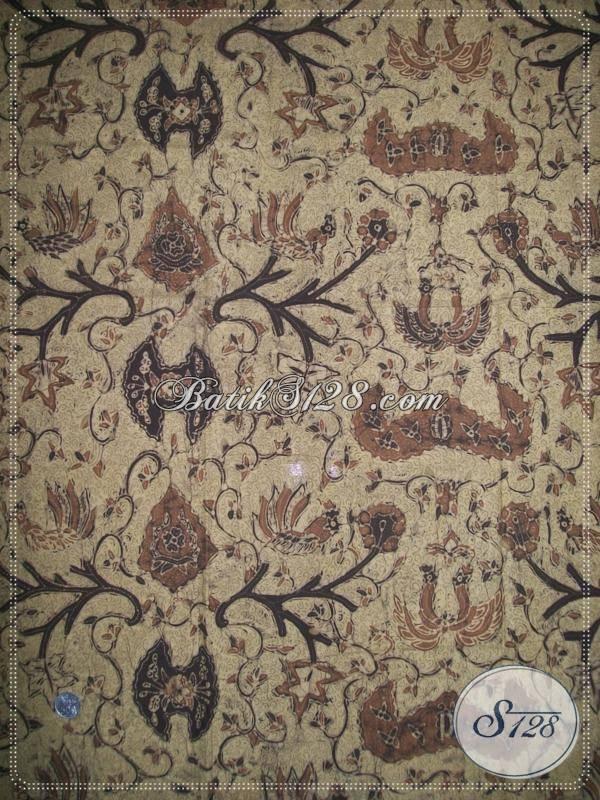 Batik Tulis Solo Online Corak Wahyu Tumurun, Warna Alam / Natural [K960TA]