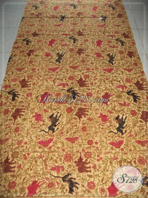 Batik Tulis Unik Motif Satwa Hutan,Batik Tulis Elegan,Batik Tulis Modern [K968T]