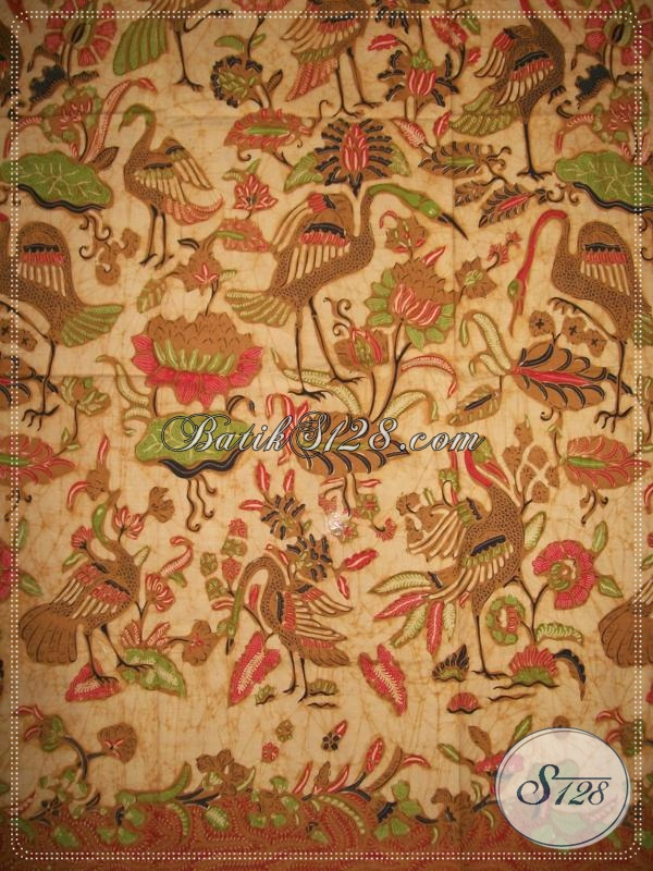Kain Batik Elegan Untuk Setelan Kebaya,Kain Batik Fashionable [K980BT]