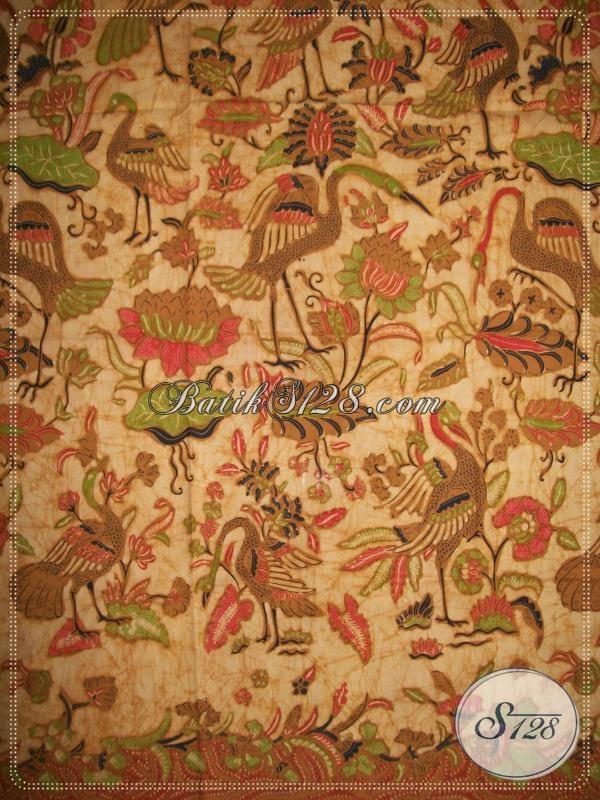 Batik Elegan Dengan Motif Modern Yang Banyak Disukai Oleh Para Pecinta Batik Nusantara [K982BT]
