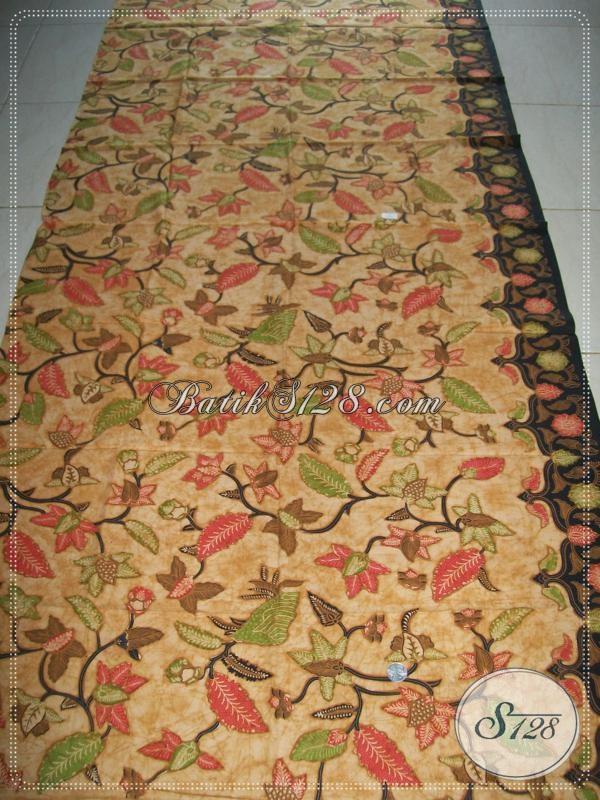 Bahan Batik Untuk Paduan Kebaya,Batik Trendy Asli Solo [K985BT]