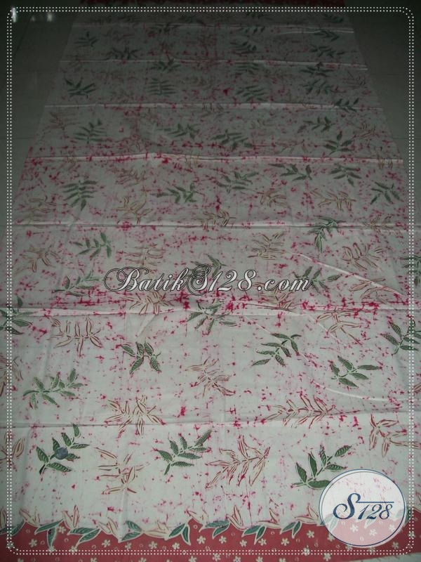 Kain Batik Tulis Asli Pengrajin Batik Solo [K987T]
