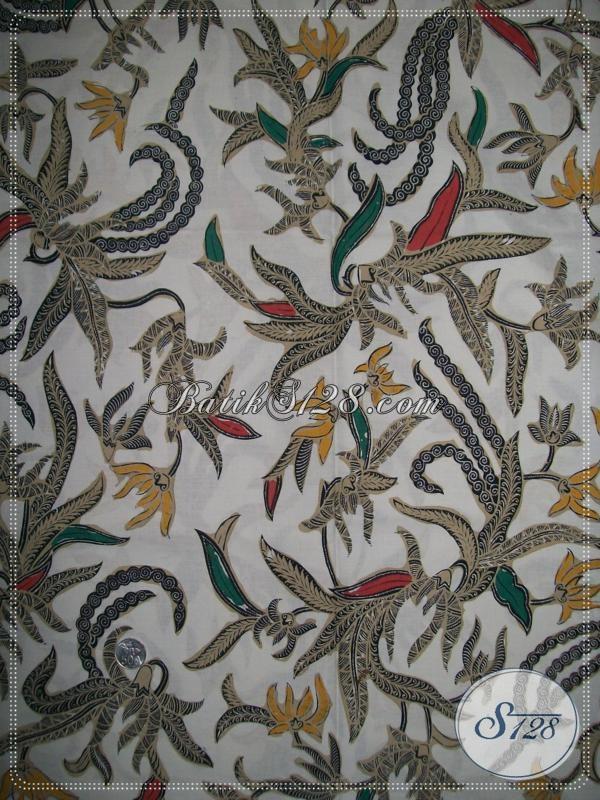 Kain Batik Motif Modern Dari Batik Asli Solo,Mode Kain Batik Elegan Dan Trendy [K994BT]