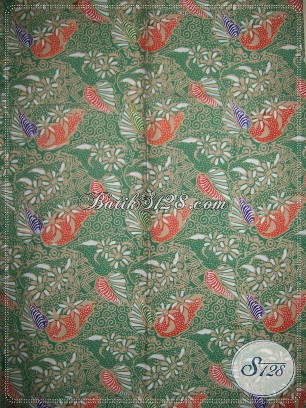 Sedia Kain Batik Dengan Motif Modern, Cocok Untuk Bahan Baju Wanita Karir