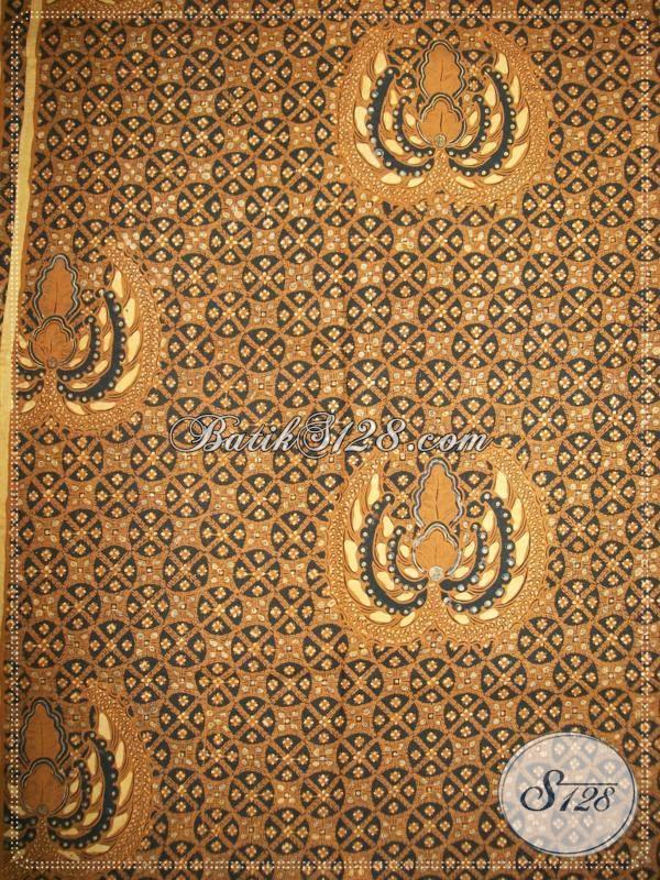 Batik Klasik Solo Motif Cakar Lar, Bahan Batik Kain Jarik Kain Panjang, Berkualitas Bagus [KJ006AM]
