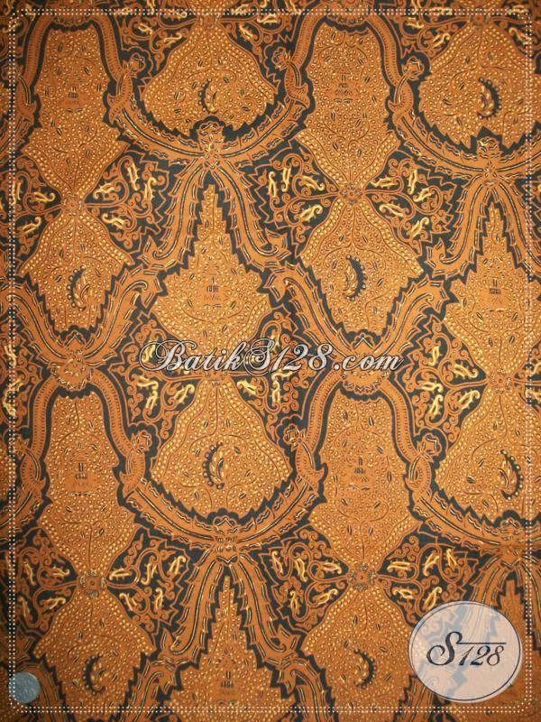 Grosir Batik Lawasan, Batik Candi Luhur, Batik Klasik Solo Semitulis [KJ019AM]