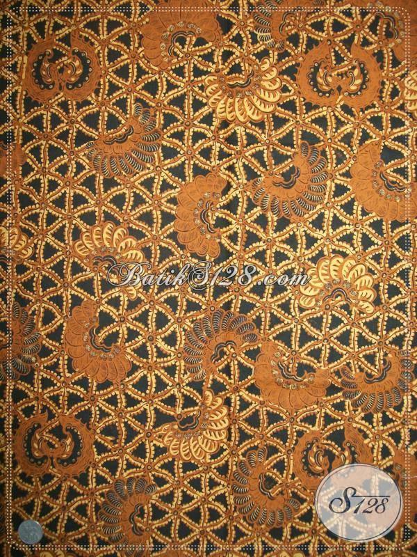 Grosir Batik Klasik Lawasan Solo, Batik Suri Kencono, Untuk Blus dan Kemeja Pria [KJ021AM]