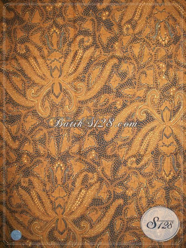 Batik Jawa Klasik Lawasan Motif Pisang Bali, Asli Solo, Harga Murah Terjangkau [KJ026AM]