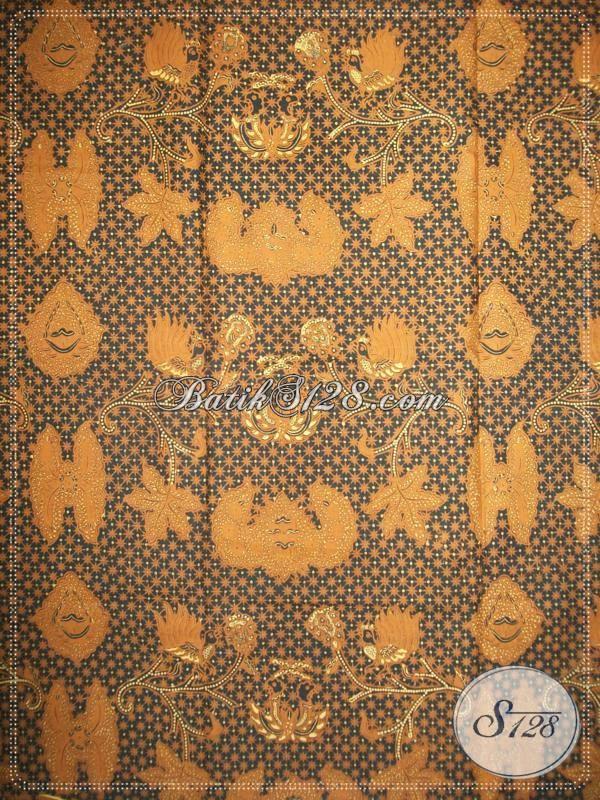 Batik Sogan Lawasan Truntum Wahyu Tumurun, Batik Jawa Klasik [KJ030AM]