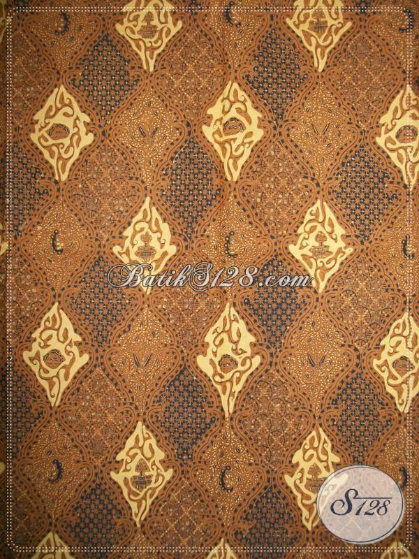 Jual Batik Lawasan Solo Motif Pintu Retno Drajat, Bahan Jarik Batik Klasik Untuk Blus, Kemeja Pria, Rok [KJ032AM]