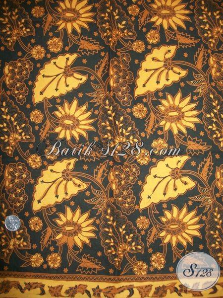 Batik Motif Lama/Klasik Lumbu Bledak, Bahan Bagus Tidak Luntur [KJ038AM]