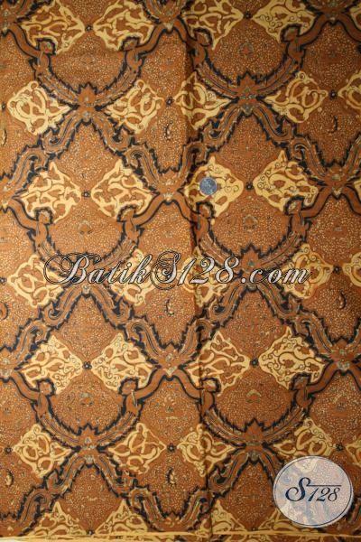 Batik Klasik Motif Candi Mulyo, Bahan Pakaian Batik Proses Kombinasi Tulis, Batik Bagus Harga Murmer