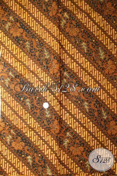Kain Batik Klasik, Batik Cabut Motif Parang Motho Pithik, Batik Bahan Solo Halus Busana Elegan, Batik Murah 2017