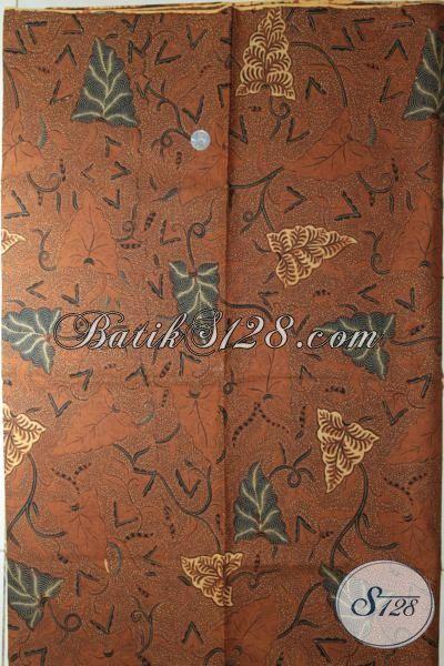 Batik Klasik Produk Solo Jawa Tengah, Batik Kain Bahan Busana Mewah Proses Kombinasi Tulis Membuat Penampilan Semakin Rapi Dan Mewah