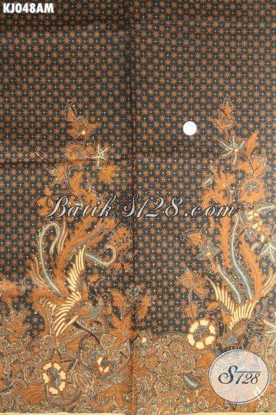 Bahan Jarik Batik Klasik Solo Motif Truntum Boh Proses Kombinasi Tulis [KJ048AM-240x110cm]