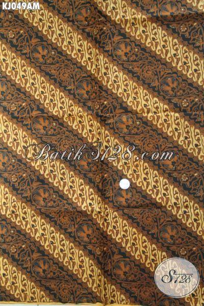 Jarik Batik Bahan Bagus Ukuran 240x110cm, Proses Batik Kombinasi Tulis [KJ049AM-240x110cm]