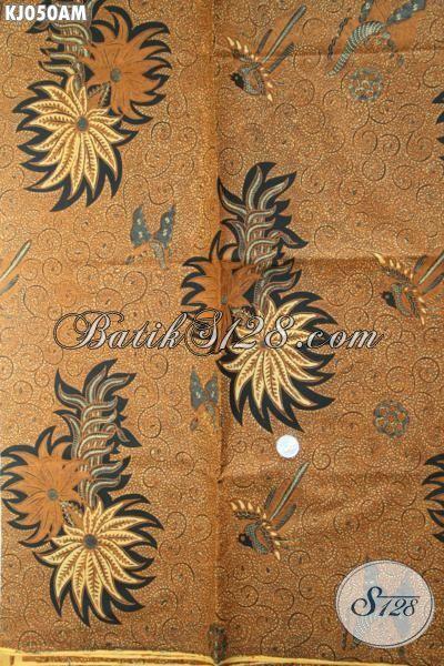 Batik Klasik Halus Proses Kombinasi Tulis, Batik Lawasan Motif Debyah Ukel Cocok Buat Jarit Dan Busana Formal