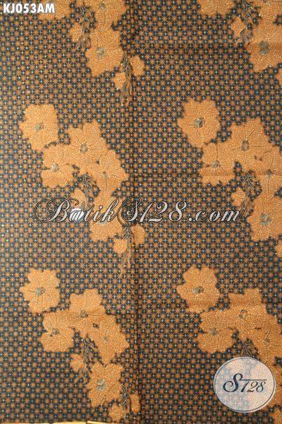 Kain Batik Klasik Truntum Anggrek Khas Jawa Tengah, Batik Halus Bahan Busana Pria Dan Wanita Proses Kombinasi Tulis Tampil Lebih Berkelas