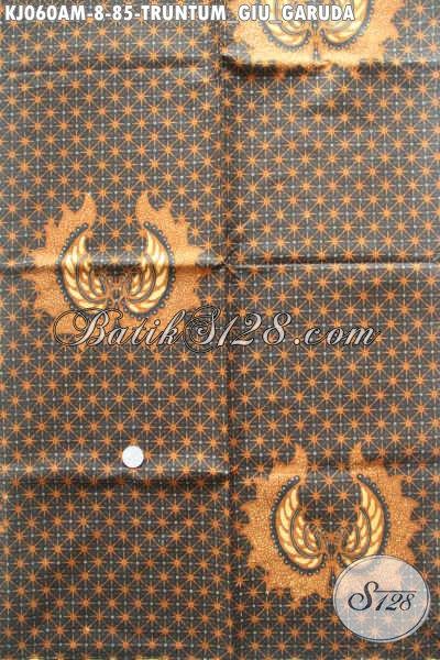 Kain Batik Klasik Halus Bahan Jarik, Batik Lawasan Kombinasi Tulis Motif Truntum Giu Garuda Harga 85 Ribu Saja