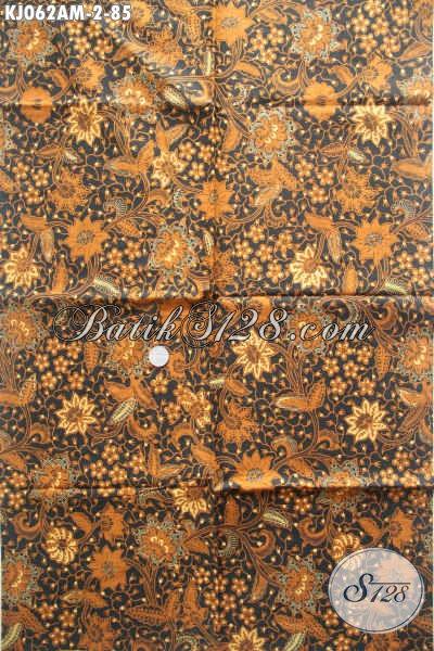 Batik Kain Klasik Bahan Jarit, Jual Kain Batik Lawasan Istimewa Buatan Solo Proses Kombinasi Tulis Untuk Penampilan Lebih Istimewa [KJ062AM-240x105cm]