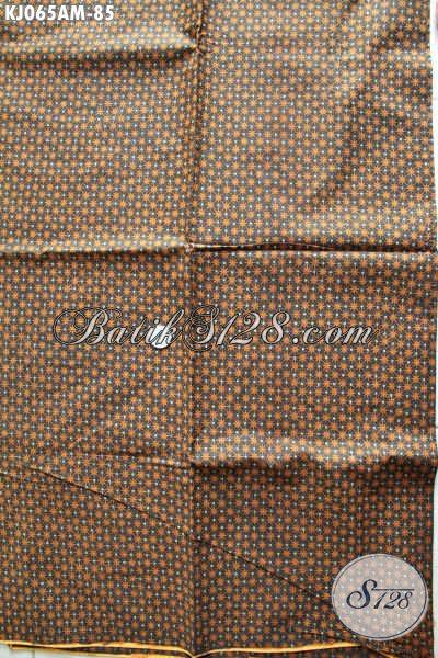 Batik Kain Klasik Istimewa, Batik Lawasan Kwalitas Halus Proses Kombinasi Tulis Bahan Jarik Dan Busana Formal [KJ065AM-240x110cm]