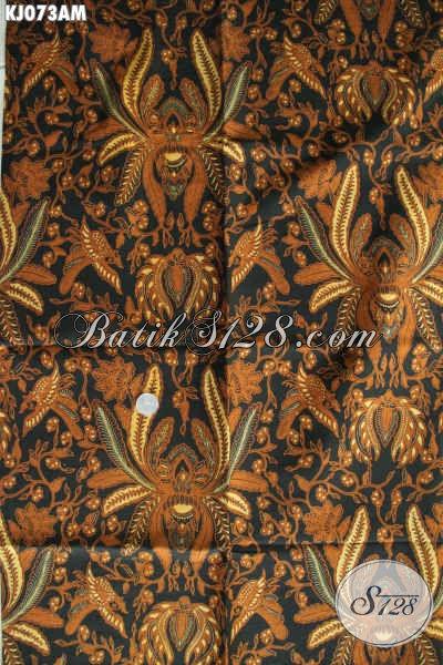 Jual Online Kain Batik Klasik Istimewa Bahan Jarik, Batik Halus Harga Terjangkau Kwalitas Istimewa Proses Kombinasi Tulis [KJ073AM-240x105cm]