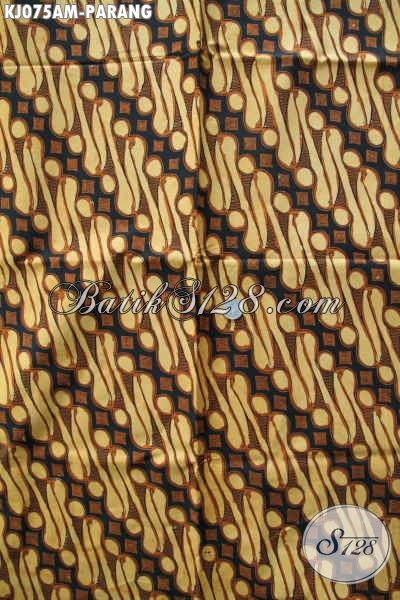 Batik Solo Halus Motif Parang Klasik, Batik Istimewa Dari Solo Bahan Jarik Proses Kombinasi Tulis [KJ075AM-240x105cm]