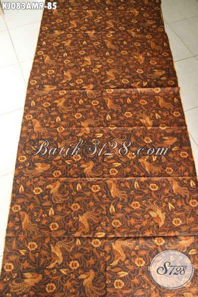 Batik Klasik Bahan Jarik, Batik Solo Elegan Proses Kombinasi Tulis Motif Bagus Harga 85K [KJ083AM-240x105cm]
