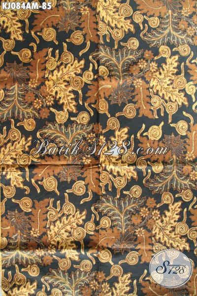 Produk Batik Jarik Terkini, Hadir Dengan Motif Klasik Berkelas Asli Buatan Solo Proses Kombinasi Tulis [KJ084AM-240x105cm]