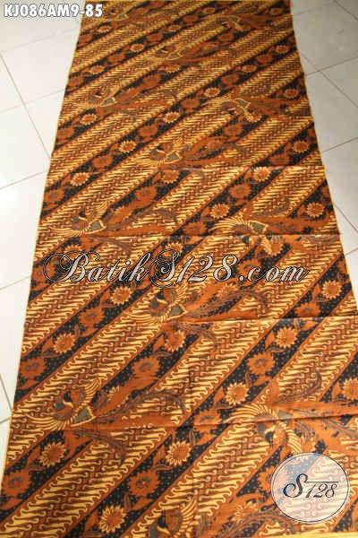 Kain Batik Jarik Nan Berkelas, Batik Halus Solo Proses Kombinasi Tulis Harga 85K [KJ086AM-240x105cm]