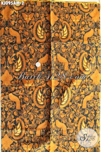 Produk Kain Batik Jarik Buatan Solo, Batik Klasik Jawa Tengah Kwalitas Istimewa Proses Kombinasi Tulis Hanya 85K [KJ095AM-240x105cm]