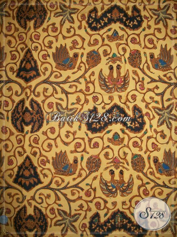 ... , Batik Klasik Etnik Khas Solo Proses semi Tulis - Busana Batik S128