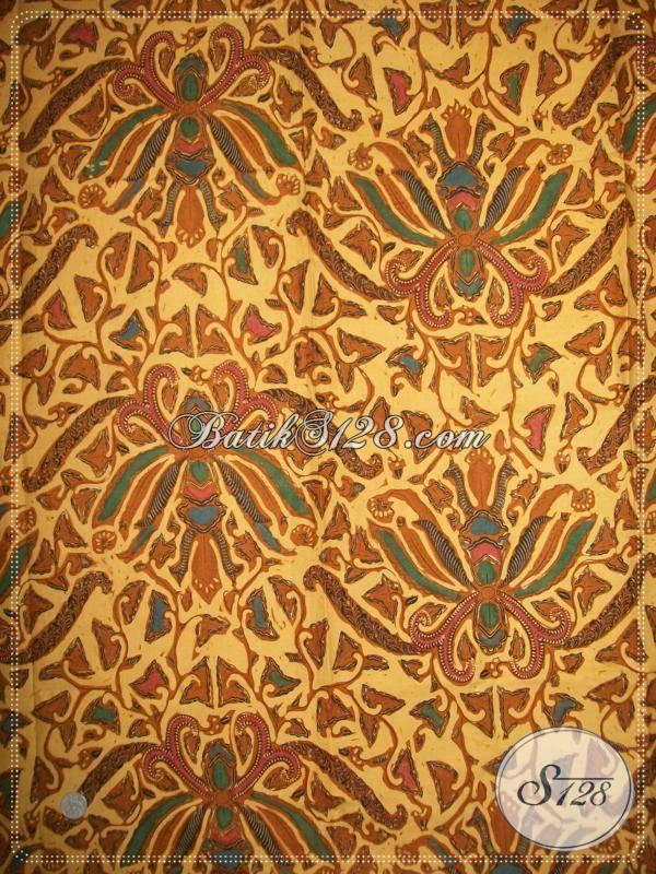 Jual Batik Jawa Klasik, Batik Kain Bahan Jarik Motif Pisang Bali Bledak Elegan Harga Murah