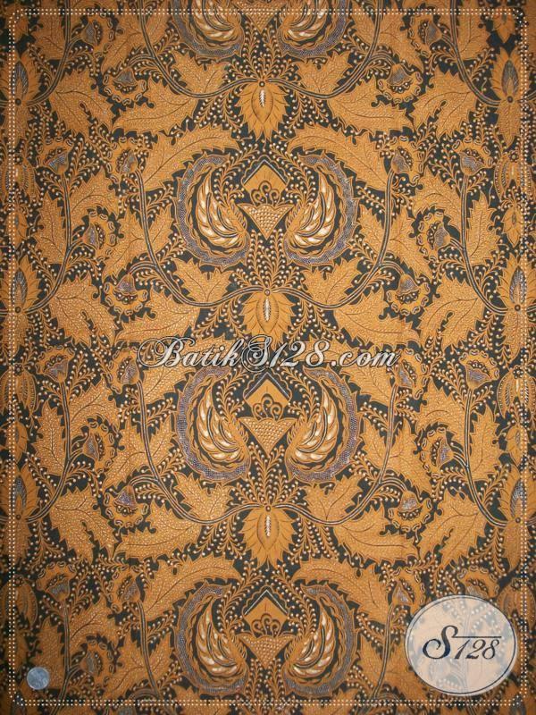 Kain Batik Premium Asli Buatan Solo Indonesia, Batik Klasik Lawasan Motif Parang Bahan Jarik Istimewa