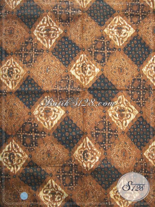 Pusat Batik Klasik Premium Melayani Online, Jual Batik Tulis Soga Genes Warna Alam, Kain Batik Mewah Mahal Berkelas