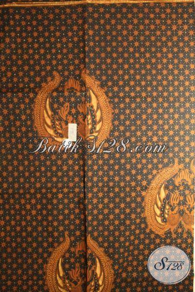 Batik Tulis Truntum Garuda / Gurdho / Lar Asli Solo, Jarik Orang Tua Pengantin Adat Pernikahan Jawa [KJ601GO]