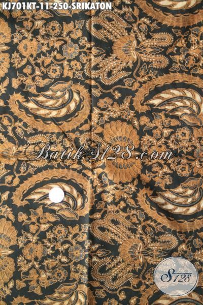 Batik Kain Premium Proses Kombinasi Tulis Halus Bahan Busana Keren Dan Mewah, Batik Solo Klasik Cocok Untuk Baju Formal