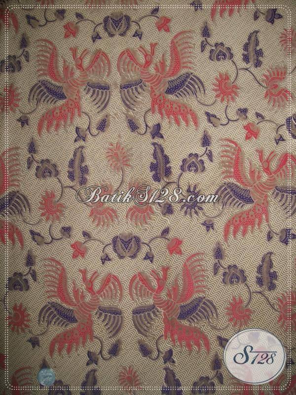 Bahan Batik Untuk Kemeja Batik Pria Atau Busana Batik Wanita Trendy Asli Batik Solo [KP688]