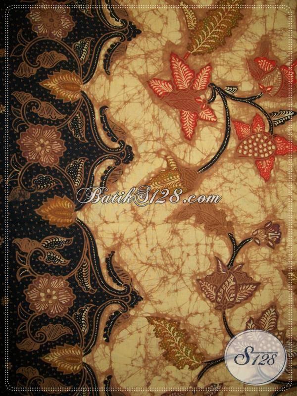 Batik Tulis Asli Pengrajin Batik Tulis Solo,Toko Online Bahan Batik-Batik Tulis Halus [KT674]