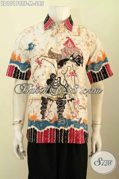 Model Baju Batik Kwalitas Premium Full Furing Motif Wayang Bahan Adem Proses Tulis, Di Jual Online 285K Ukuran M