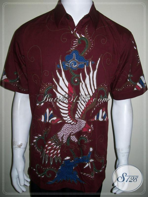 Batik Laki-Laki Modern Ukuran L, Batik Tulis Solo Online [LD1028T-L]