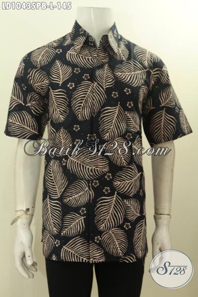 Baju Batik Bagus Murah Cocok Buat Kerja Dan Gaul, Kemeja Batik Masa Kini Yang Bikin Penampilan Tampan Mempesona, Size L