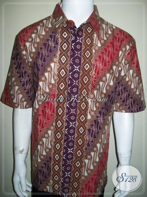 Kemeja Batik Model SBY, Elegan Dan Exclusive [LD1043CT-XL]