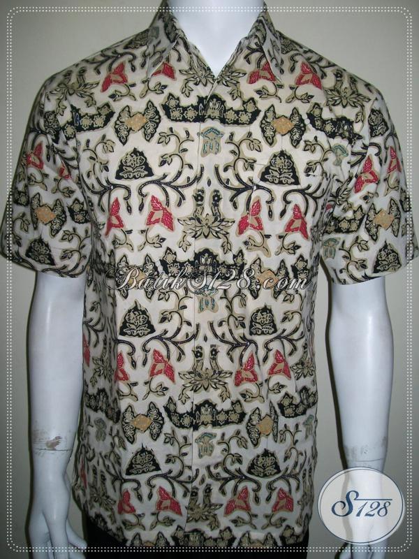 Baju Batik Remaja Pria Klasik Modern Terbaru Motif Wahyu