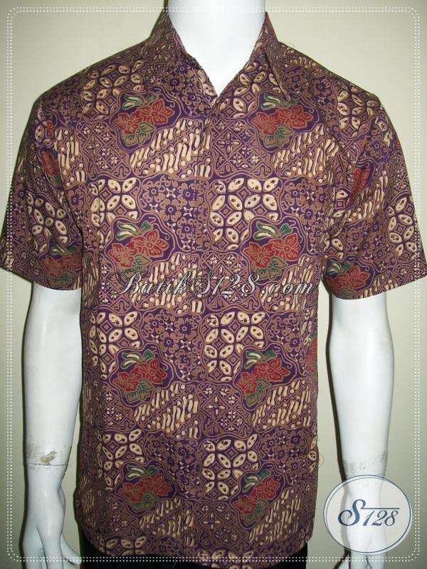 Baju Kemeja Batik Solo Untuk Cowok Keren Dan Aktif [LD1049P-M]