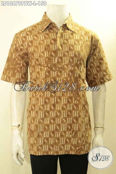 Toko Baju Batik Pria Online Model Selalu Baru, Sedia Hem Lengan Pendek Size L Bahan Adem Proses Printing Solo Kwalitas Istimewa Harga 150 Ribu